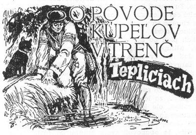 O pôvode kúpeľov v Trenčianskych Tepliciach