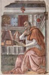 Augustin od Sandra Botticelliho (okolo r. 1480)